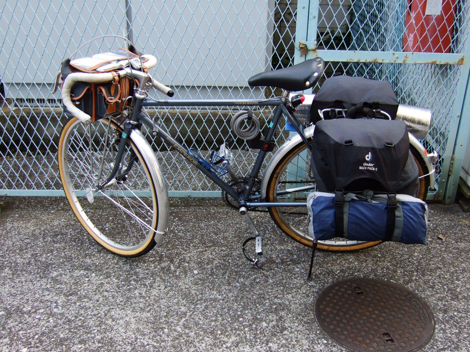 自転車の 自転車旅 テント 重量 : 出来損ないの自転車旅行II ...