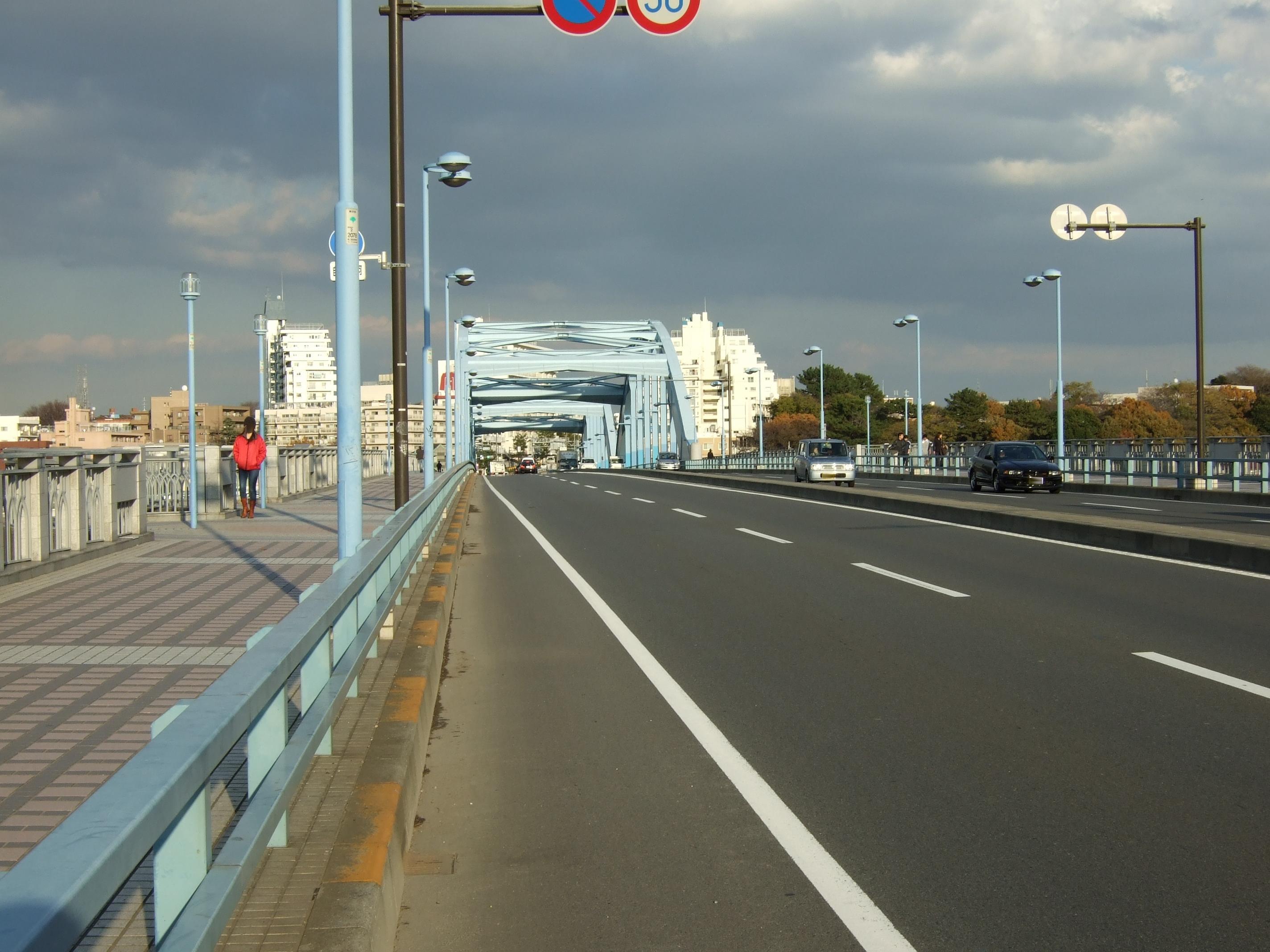 自転車道 多摩自転車道 地図 : 15 04 丸子 橋 で 多摩川 を 渡り ...