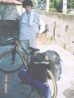 自転車よし, 荷物よし。去年は ...